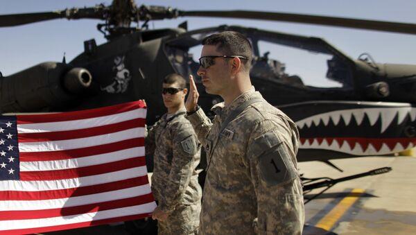 Aмеричка војска у Ираку - Sputnik Србија