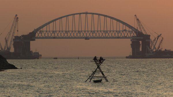 Izgradnja mosta preko Kerčkog moreuza - Sputnik Srbija