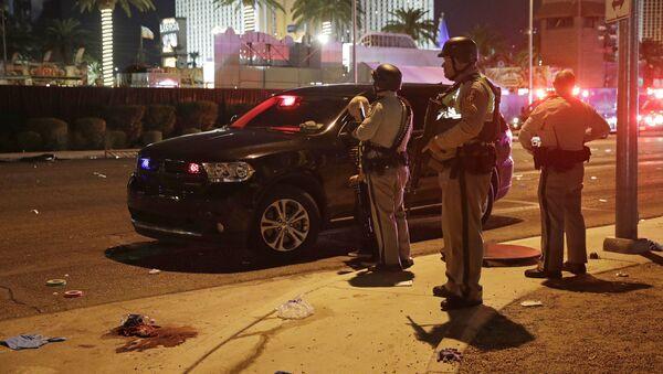 Policija na mestu pucnjave u Las Vegasu - Sputnik Srbija