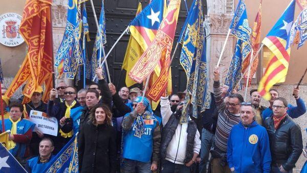 Окупљање испред шпанског конзулата у Верони - Sputnik Србија