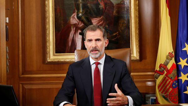 Španski kralj Felipe obraća se naciji - Sputnik Srbija