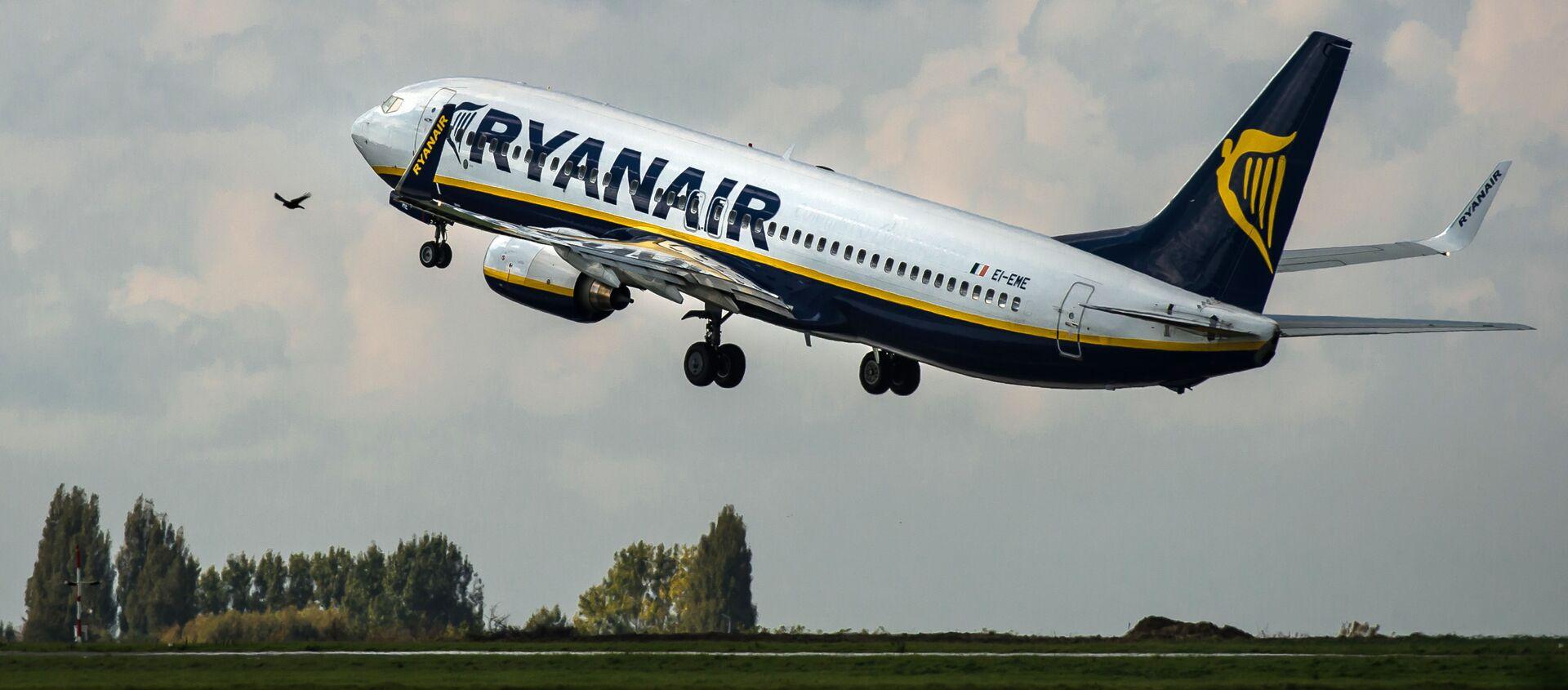 Авион компаније Ryanair  - Sputnik Србија, 1920, 23.05.2021