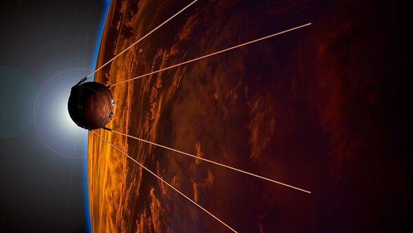 Umetnička fotografija u čast 50. godišnjice lansiranja satelita - Sputnik Srbija