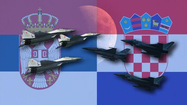 МиГ-29 и Ф-16 - Sputnik Србија