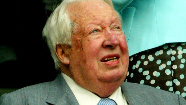 Бивши британски премијер Едвард Хит. - Sputnik Србија