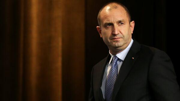 Председник Бугарске Румен Радев - Sputnik Србија