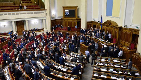 Седница Врховне раде Украјине - Sputnik Србија