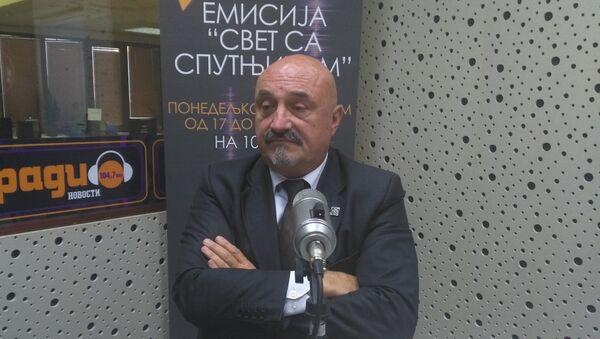 Advokat Goran Petronijević - Sputnik Srbija