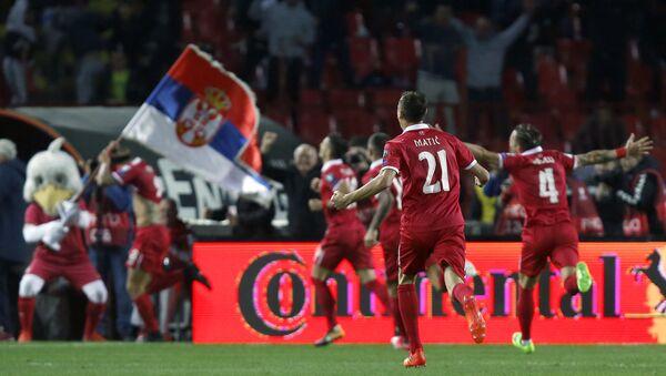 Fudbalska utakmica između Srbije i Gruzije - Sputnik Srbija