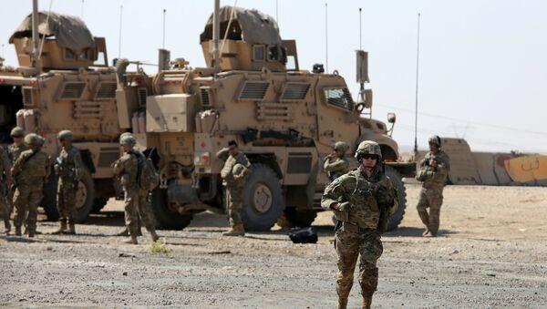 Američki vojnici u bazi u blizini Zapadnog Mosula u Iraku - Sputnik Srbija