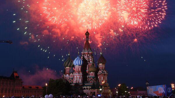 Vatromet u Moskvi - Sputnik Srbija