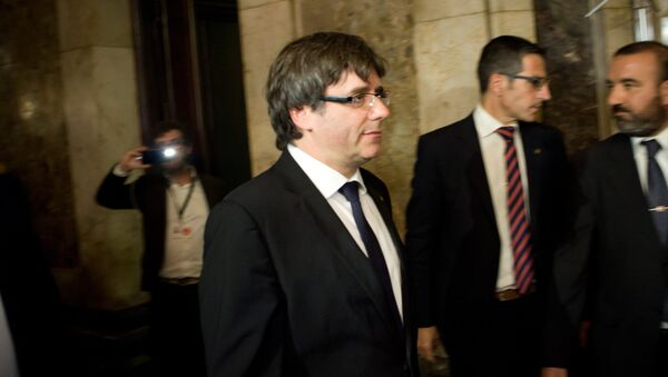 Katalonski predsednik Karles Pudždemon - Sputnik Srbija