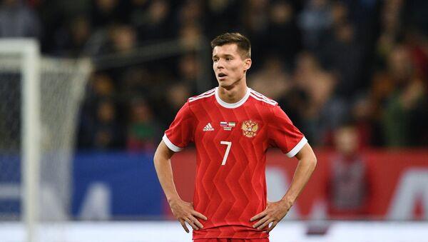 Dmitrij Poloz u meču Rusija - Iran - Sputnik Srbija
