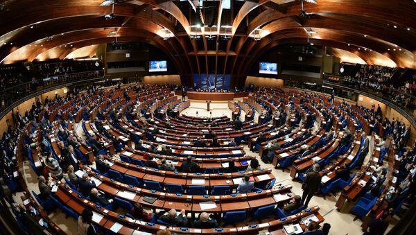 Сала за седнице Савета Европе у Стразбуру - Sputnik Србија