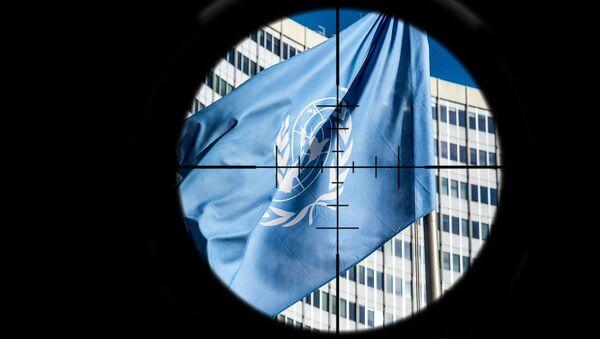 Нишан на УН - илустрација - Sputnik Србија