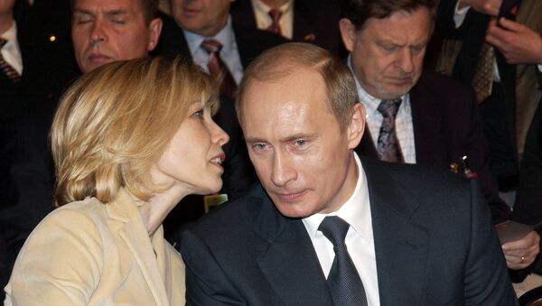 Doris Šreder Kof i Vladimir Putin - Sputnik Srbija