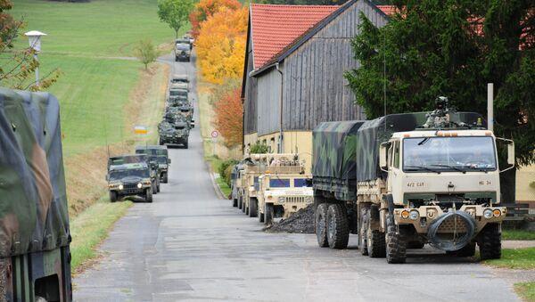 Конвој америчке војске у Европи - Sputnik Србија