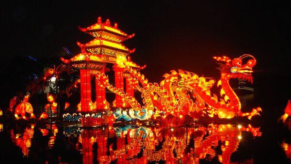 Кинески змаје у парку Лонгтан у Пекингу - Sputnik Србија
