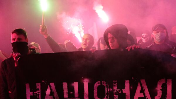 Марш националиста у Кијеву - Sputnik Србија