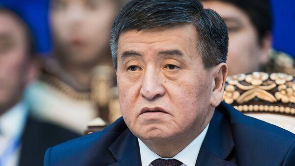 Bivši premijer Kirgistana Sooronbaj Žeenbekov - Sputnik Srbija