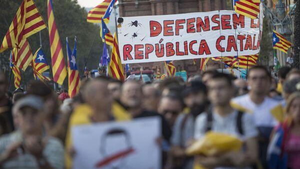 Присталице независности Каталоније  - Sputnik Србија