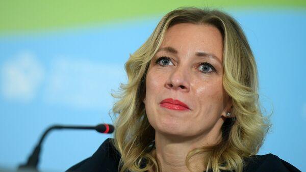 Портпарол Министарства спољних послова Русије Марија Захарова - Sputnik Србија