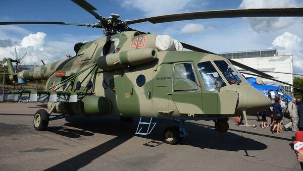 Војно-транспортна верзија хеликоптера Ми-8 АМТШ (извозна верзија - Ми-171Ш) - Sputnik Србија