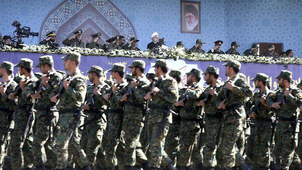 Iranska revolucionarna garda na vojnoj paradi u Teheranu - Sputnik Srbija
