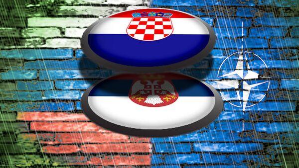 Србија Хравтска  - илустрација - Sputnik Србија