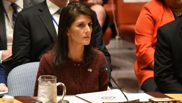 Америчка амбасадорка у УН Ники Хејли - Sputnik Србија