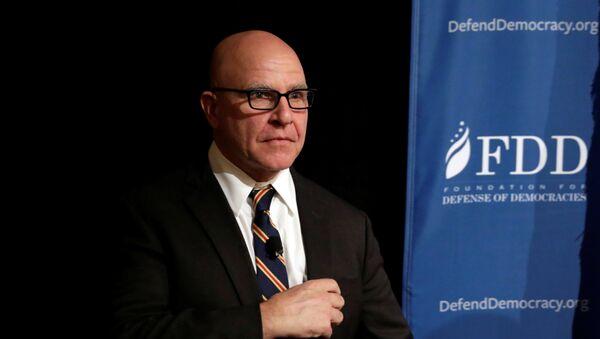 Savetnik američkog predsednika za nacionalnu bezbednost Herbert Mekmaster - Sputnik Srbija
