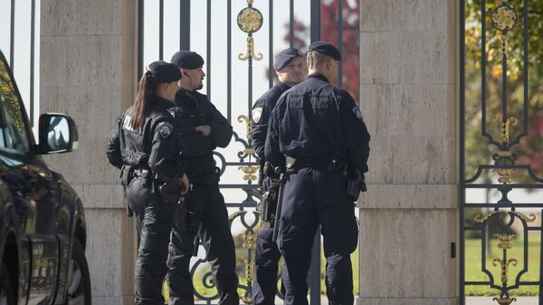 Policija ispred kuće Todorića u Zagrebu - Sputnik Srbija