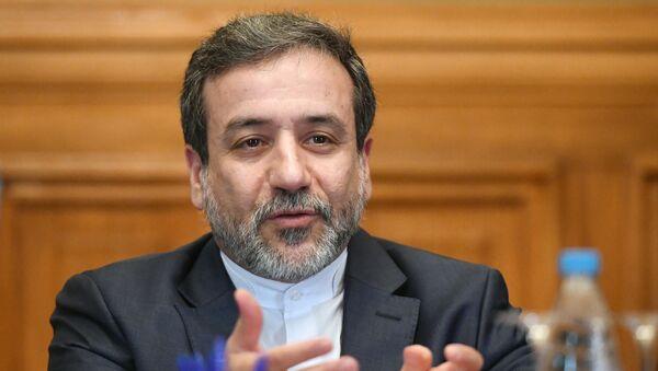Заменик министра иностраних послова Ирана Абас Аракчи - Sputnik Србија