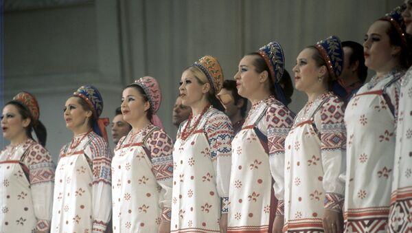 Руски академски хор Митрофан Пјатницки - Sputnik Србија