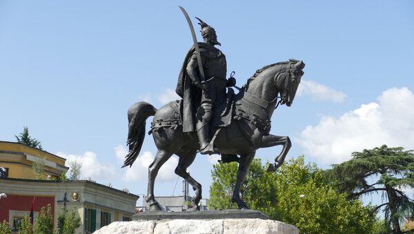 Споменик Скендербегу. - Sputnik Србија