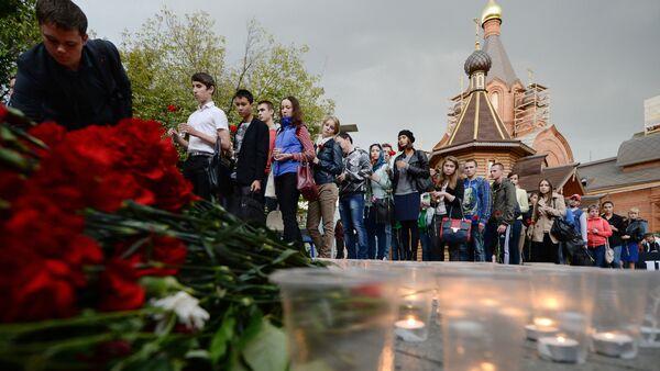 Сећање на жртве терористичког напада у Москви 2002. године - Sputnik Србија