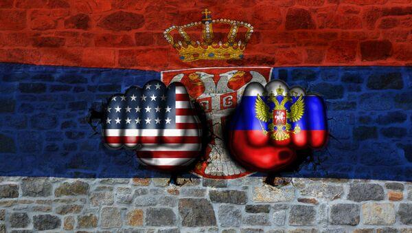 САД, Русија и Србија - илустрација  - Sputnik Србија