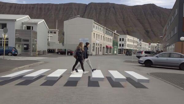Необични пешаки прелази на Исланду - Sputnik Србија