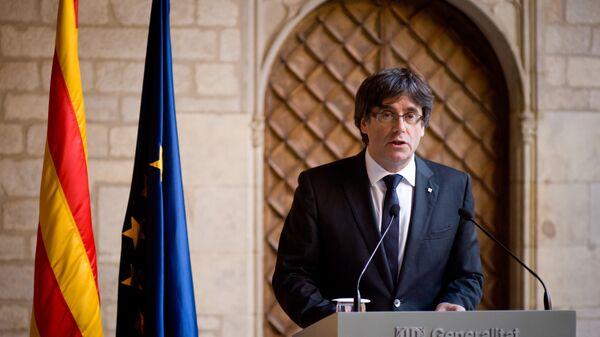 Šef Vlade Katalonije, K. Pudždemon - Sputnik Srbija