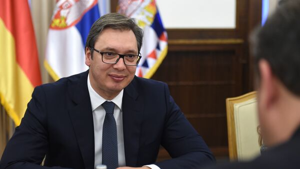 Председник Србије Александар Вучић - Sputnik Србија