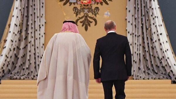 Владимир Путин и саудијски краљ - Sputnik Србија