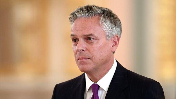 Амбасадор САД у Русији Џон Хантсман - Sputnik Србија