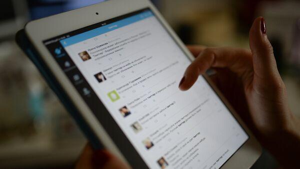 Страница сајта друштвене мреже Твитер  - Sputnik Србија