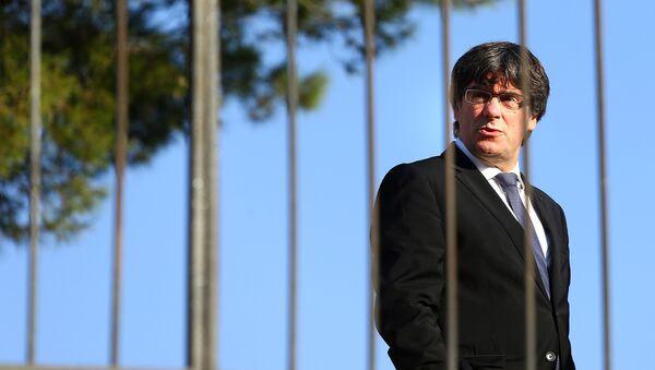 Каталонски председник Карлес Пуџдемон у Барселони - Sputnik Србија