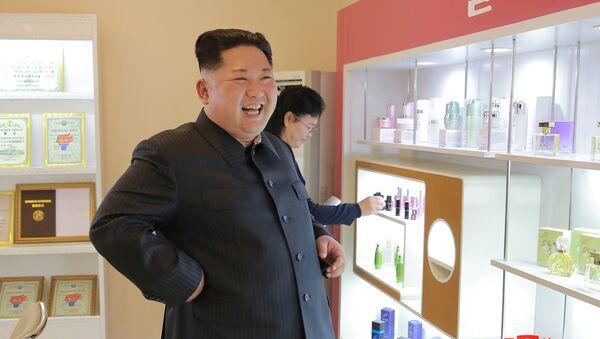 Ким Џонг Ун посетио козметичку фирму - Sputnik Србија