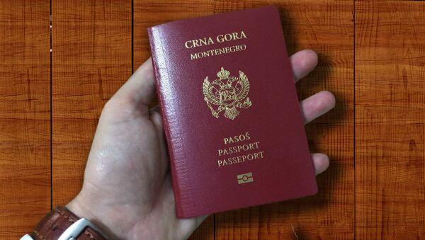 Црногорски пасош - Sputnik Србија