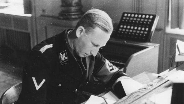 Rajnard Hajdrihšef šef bavarske policije i SD u Minhenu 1934. - Sputnik Srbija