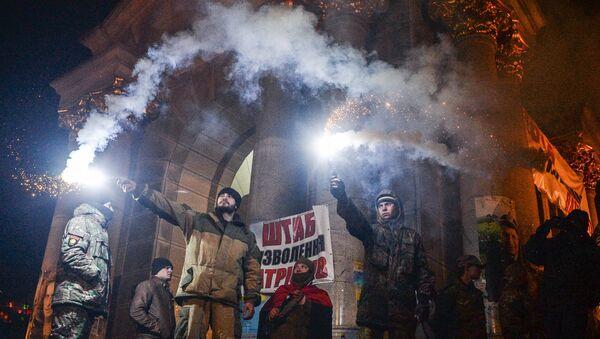 Dešavanja na trgu Majdan Kijevu- arhivska fotografija - Sputnik Srbija