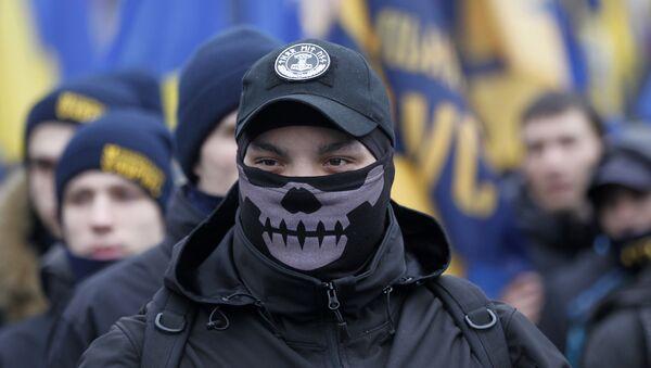 Demonstarcije na trgu Majdan, Kijev, Ukrajina - arhivska fotka - Sputnik Srbija