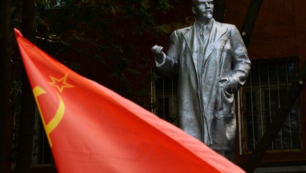 Споменик Владимиру Лењину у Владивостоку - Sputnik Србија